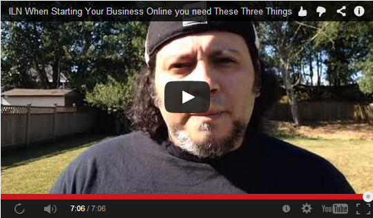 Three things You must do ONLINE Business